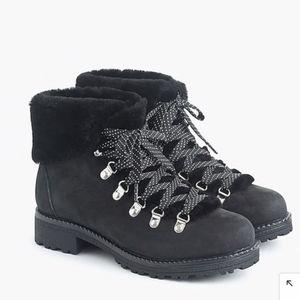J crew Nordic leather boots - 8